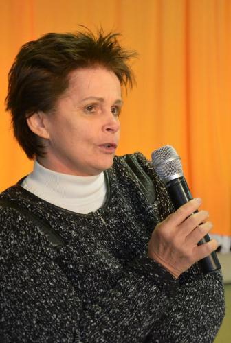 Spáth Judit a Figyelj Rám! Közhasznú Egyesület elnöke